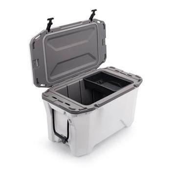 30 Qt Cooler White Gray