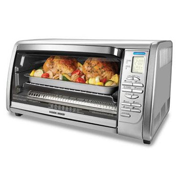 BD Dig Touchpad Toaster Oven