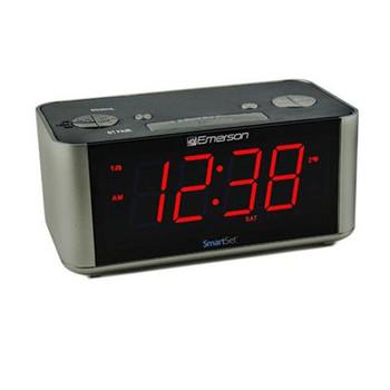 SmartSet Alarm Clock Black Gry