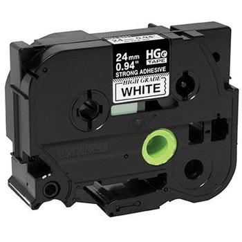 Black Ink on White Tape 5 pack - HGES2515PK