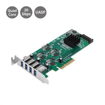 4Port USB 3.0 PCIe Quad Core