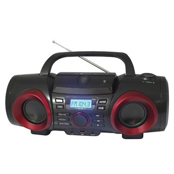 MP3 CD Boombox with Bluetooth