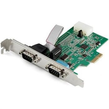 2 Port PCI Express RS232 Card