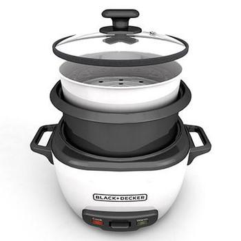 BD 16c Rice Cooker Wht