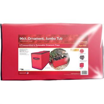 "GT 3""96 Ornament Storage Tub"