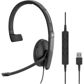 One Side USB headset w inline