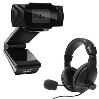 Pro HD Video Webcam Headset