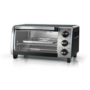 BD 4 Slice Toaster Oven SSBlk