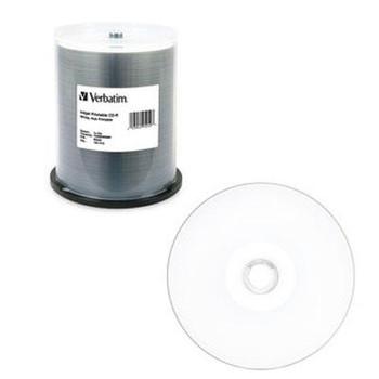 CD-R 80MIN 700MB 52X White Ink - VER95252