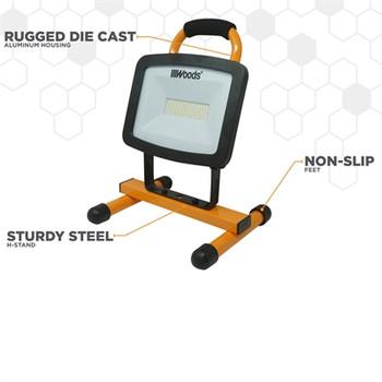 6000 Lumen Portable Worklight