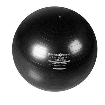 Zenzation 26in Exrcise Ball BK