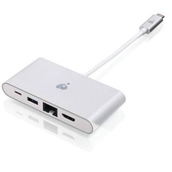 USBC 4K HDMI GbE USB A Hub wPD