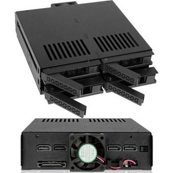 4 Bay 2.5 SAS SATA Mobile Rack