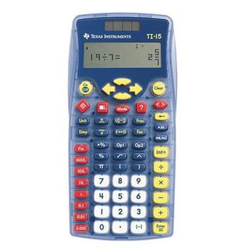 TI 15 Explorer Calculator
