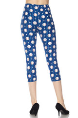 Buttery Soft Love of Baseball Capris - Plus Size