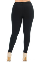 Buttery Soft Basic Solid Leggings - Extra Plus Size - 3X-5X - New Mix