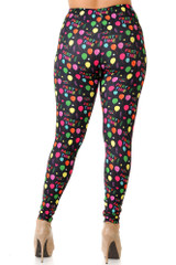 Creamy Soft Party Time Leggings - Plus Size