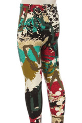 Double Brushed Picasso in the Park Kid's Leggings