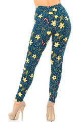 Buttery Soft A Very Merry Christmas Leggings - Extra Plus Size - 3X-5X