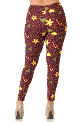 Buttery Soft Merry Christmas Treats and Cookies Leggings - Plus Size