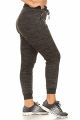 Fur Lined Winter Joggers - Plus Size