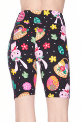 Buttery Soft Cute Bunnies and Easter Egg Shorts - 3 Inch