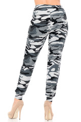 Buttery Soft Charcoal Camouflage Joggers