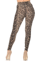 Feral Cheetah High Waisted Double Brushed Leggings