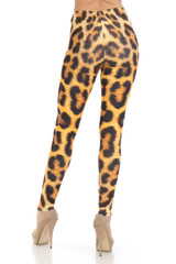 Creamy Soft Spotted Panther Leggings - Plus Size - USA Fashion™