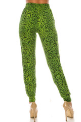 Double Brushed Green Irish Vine Joggers - LIMITED EDITION