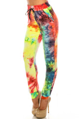 Double Brushed Colorful Summer Tie Dye Joggers