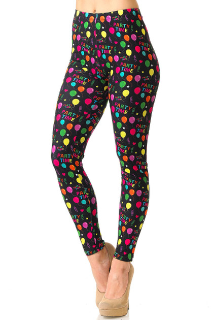 Creamy Soft Party Time Leggings