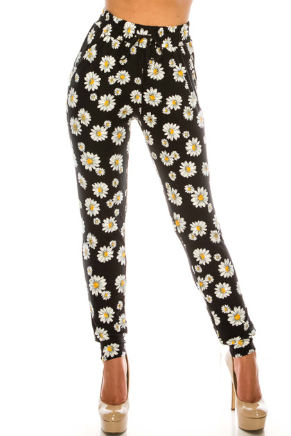 Double Brushed Daisy Joggers