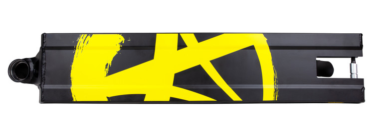Addict Defender Deck - Black/Yellow