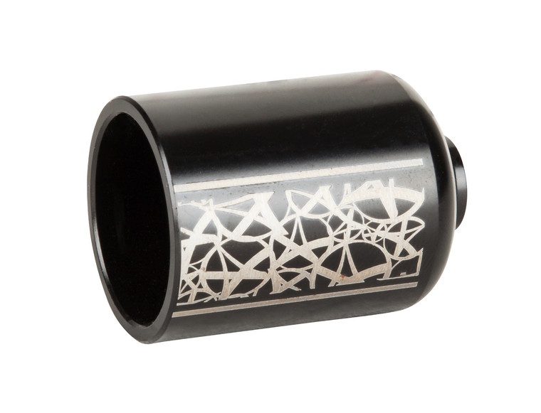 Flint Pegs Long Black - Aluminum Alloy