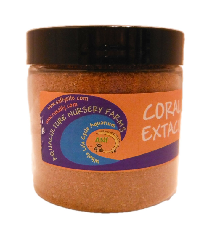 Coral Extacy Dry Coral Food