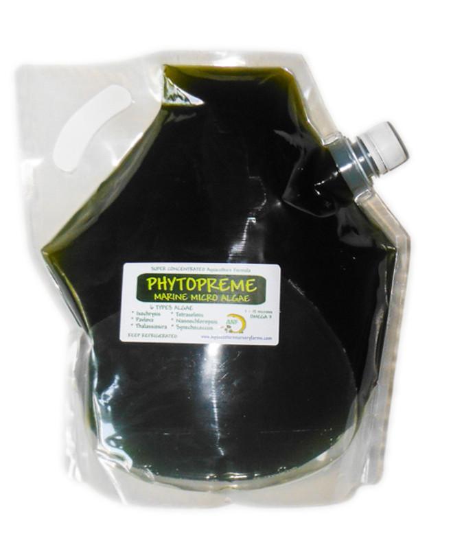 Phytoplankton Live Saltwater Micro Algae Copepod Food Coral Food