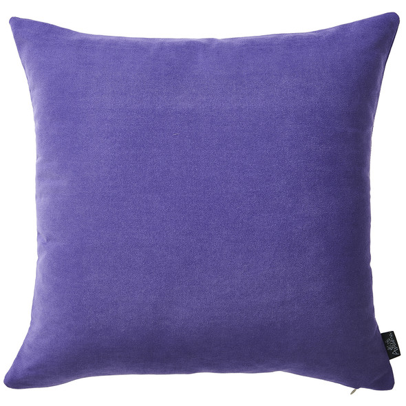"18""x18"" Honey Lilac Decorative Throw Pillow Cover (2 pcs in set)"