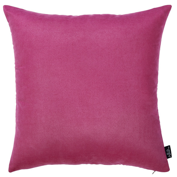 "18""x18"" Pink Honey Decorative Throw Pillow Cover (2 pcs in set)"