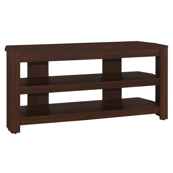 "15.5"" x 42"" x 19.75"" Cherry, Particle Board, Laminate - TV Stand"
