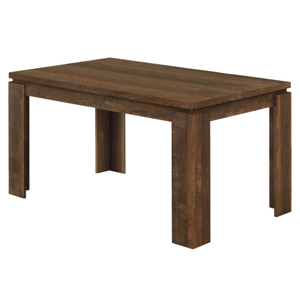 """35.5"""" x 59"""" x 30.5"""" Brown, Reclaimed Wood Look - Dining Table"""