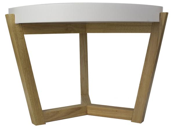 """22"""" x 22"""" x 16"""" White - Coffee Table"""