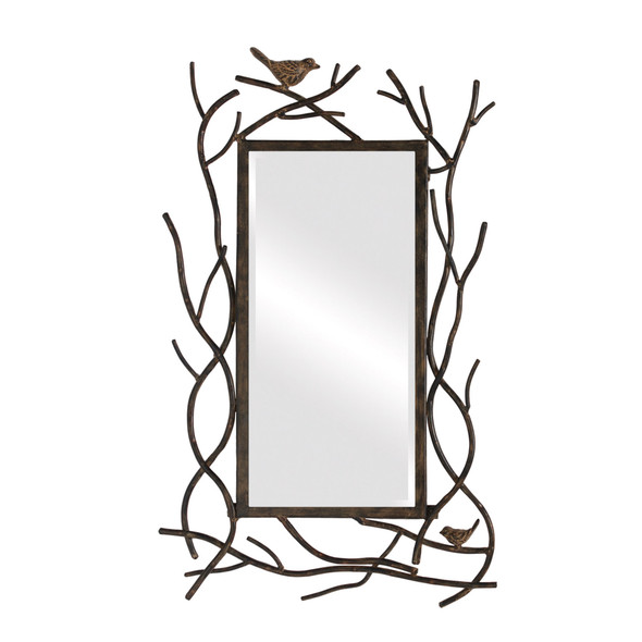 """14"""" X 23"""" Bird Mirror"""