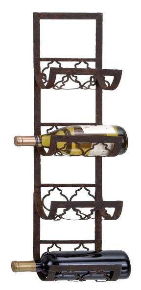 Wine Racks - Metal Wall Wine Rack