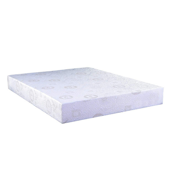 "10"" Queen Green Tea Infused Polyester Memory Foam Mattress"