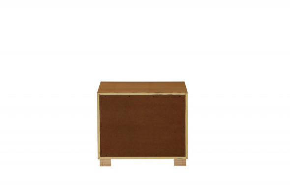 """24"""" X 17"""" X 20"""" Natural Mdf Nightstand"""