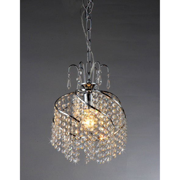 Spring 10-inch Crystal Chandelier