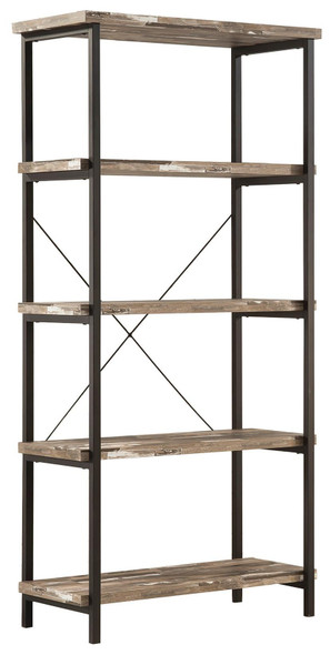 Bookcase With 4 Open Shelves - 334865