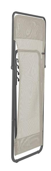 Folding Sling Chair - Set of 2 - Basalt Steel Frame - Seigle Fabric