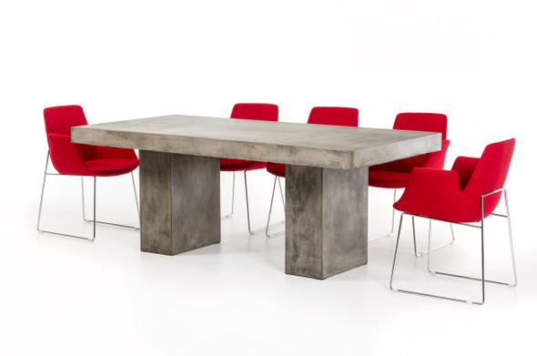 """30"""" Concrete Dining Table"""